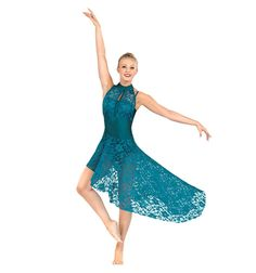 Emballe Lace High-Low Skirt - Tutus & Skirts | DiscountDance.com