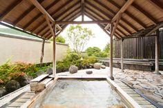 男子大浴場露天風呂 Onsen Aura Tachibana