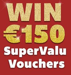 Win €150 SuperValu Vouchers - http://www.competitions.ie/competition/win-e150-supervalu-vouchers/