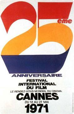 Auteur de l'affiche: Ferracci. Palme d'Or en 1971: Le messager de Joseph Losey