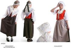 Kinda, Östergötland Folk Costume, Costumes, People Of The World, Folklore, Farms, Sweden, Harem Pants, Ethnic, Ornament