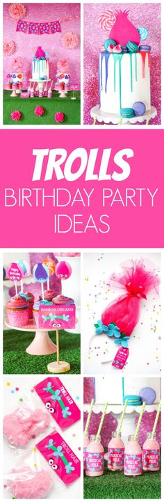 Trolls Birthday Party Ideas | Pretty My Party