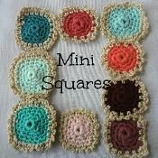 Mini Squares Pattern - via @Craftsy
