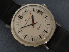 HAMILTON ELECTRIC WATCHES By Unwind In Time - Hamilton Electric 507 Calendar PROTOTYPE