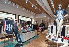 Project: Tommy Hilfiger, Moscow - Retail Focus - Retail Design and Visual Merchandising