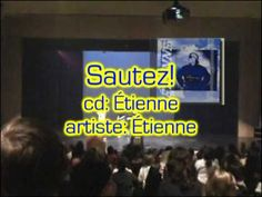 """Music video clip for the song """"Sautez!"""" from the CD """"Étienne"""" by two-time Canadian Music artist of the year winner Etienne. This song teaches the French impe. French Songs, All Songs, Music Artists, Music Videos, Lyrics, Musicians, Verses, Song Lyrics, Music Lyrics"""