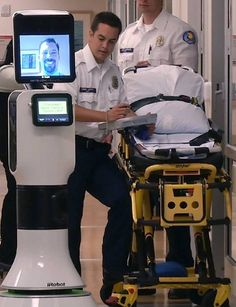Would You See an iRobot Doc in the ER? - What if you were sitting in an examination room and a robot walked through the door? Would you jump? Would you engage with it? No matter how you may feel, telepresence healthcare – using virtual reality technology – may be coming to a hospital near you.