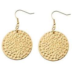 Apollo earrings with 14K gold plated stainless steel will make you shine like a sun goddess. $29.00
