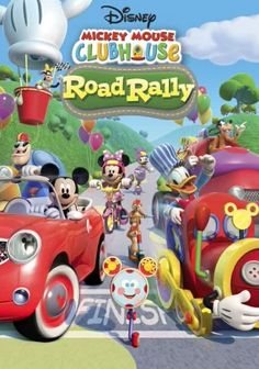 Streaming on Netflix. Mickey Mouse Clubhouse: Road Rally. Buckle up for fun on the open road with this animated adventure that follows Disney favorites Mickey Mouse, Donald Duck and Goofy on a thrilling race across deserts, mountains and jungles.