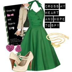 """""""Cross My Heart And Hope To Spy"""" by jaiixox on Polyvore"""