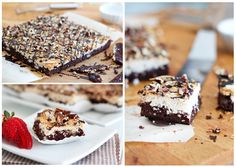 Coconut Magic Brownie Bars  @Matt Valk Chuah Healthy Foodie