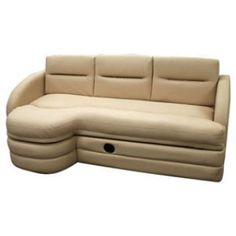 Sofa Bed For Rv Custom Size Covers Colorado Furniture Motorhome Ideas Right Side Ottoman When Sitting On Sleeper
