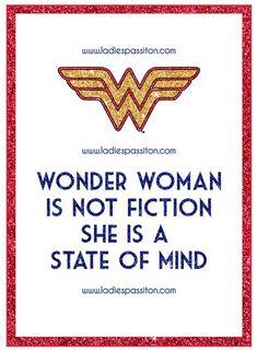 Wonder Woman/ Ladies pass it on blog/ women