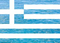 Greek flag, it represents them in their own way. Greek Flag, Go Greek, Greek Life, Flags Of The World, Places Around The World, Greek Independence, Independence Day Wallpaper, Greek Language, Greek Culture