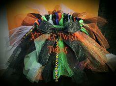 Halloween Witch Tutu by XTinasTwistedTutus on Etsy