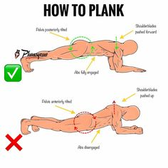 The plank is one of the best exercises for a flat, toned stomach because it works all the muscles in your core, including the rectus abdominu Fitness Motivation, Tips Fitness, Sport Fitness, Gym Fitness, Plank Fitness, Health Fitness, Funny Fitness, Fitness Humor, Gym Humor
