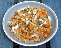 Quinoa, chickpeas and squash salad - CookTogether