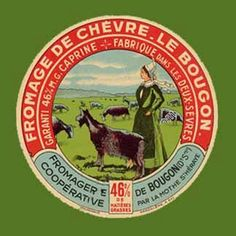 Items similar to NEW set of Antique French Goat Cheese Label Coasters on Etsy Vintage Labels, Vintage Ephemera, Vintage Signs, Vintage Ads, French Vintage, Cheese Shop, Cheese Bar, Goat Cheese, Old Antiques