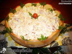Tésztasaláta Cabbage, Grains, Rice, Vegetables, Food, Red Peppers, Essen, Cabbages, Vegetable Recipes