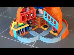 Thomas & Friends Take Along Sodor Mining Co. Playset - YouTube