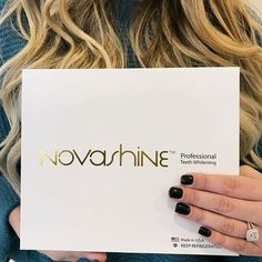 The easiest and most effective teeth whitening kit on the market; A brighter you is just a click away! @Novashinesmile  www.novashinesmile.com