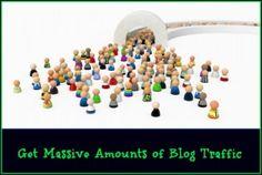 get massive blog traffic