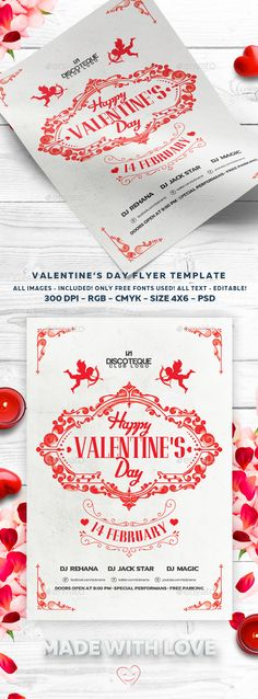 Download Free              Valentines Day Flyer            #               love #valentine #valentine flyer #valentines #valentines backgrounds #valentines card #valentines day #valentines day flyer #wedding #white