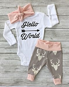 A personal favorite from my Etsy shop https://www.etsy.com/ca/listing/475300365/pink-deer-newborn-baby-coming-home