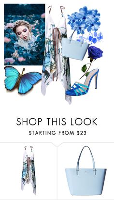 """""""Untitled #34"""" by trinita-6 ❤ liked on Polyvore featuring WithChic, Kate Spade and Charles David"""