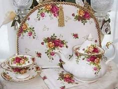 Old Country Roses, most popular china pattern