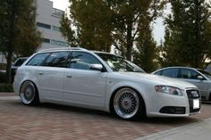 """A4 wagon on 18"""" BBS Super RS"""