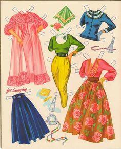 Grace Kelly MGM Star Paper Dolls/Vintage Paper Dolls