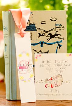 Beautiful Book Themed Baby Shower