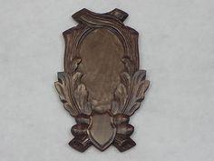 Trophy-Shield-Carved-For-Deer-Antlers-No-50-8-1-Antler-Shield-Antler-Board - Germany $ 60.45 on eBay 5.2015