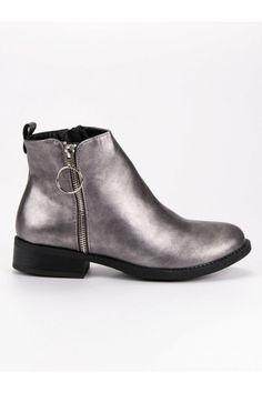 Strieborné topánky fashion Bestelle Platform, Ankle, Shoes, Fashion, Moda, Zapatos, Wall Plug, Shoes Outlet, Fashion Styles