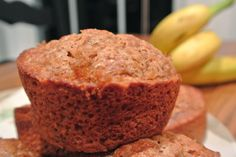 Combining the best of traditional recipes and the integration of new techniques and flavors is the basis for the modern southern cook. Jumbo Muffins, Oatmeal Muffins, Banana Nut, Banana Bread, Muffin Recipes, Breakfast Recipes, Food Therapy, Tasty Kitchen, Food Processor Recipes