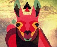 Image about inspiration in Artsy by . on We Heart It Alpacas, Cuadros Diy, Llama Arts, Llama Alpaca, Love Illustration, Cartoon Styles, Illustrations, Graphic Design Inspiration, Folk Art