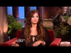 Demi Lovato on eating disorders, bullying, self harm and self medicating. Well worth a look to see a teenage celebrity actually confronting these issues publically.