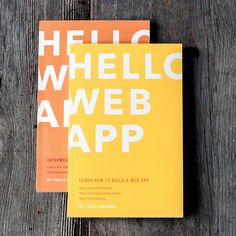 Both Hello Web App books