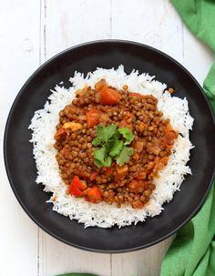 Vegan Richa Masala Lentils
