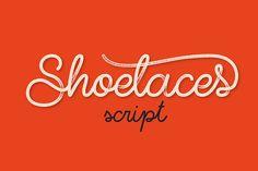 Shoelaces font on Behance