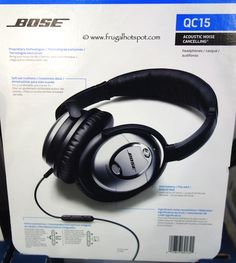 Block out the commotion. Bose QC15 Acoustic Noise Cancelling Headphones. #Costco #FrugalHotspot