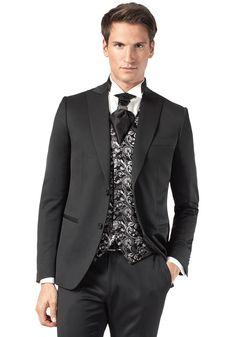 Costume noir | Jean De Sey, costumes de mariage pour homme et accessoires