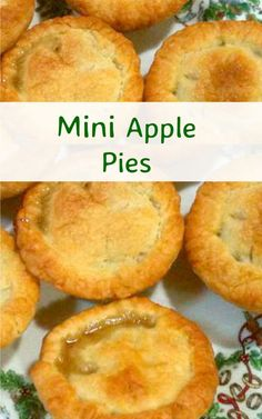 How could you not like Apple Pie! I think everyone must have tried it at some point, and to be able to make a good apple pie, with a nice crisp Best Apple Pie, Mini Apple Pies, Mini Pies, Mini Pie Recipes, Apple Cake Recipes, Dessert Recipes, Pie Dessert, Appetizer Recipes, Homemade Pecan Pie