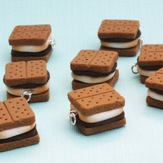Fimo S'more Charms!