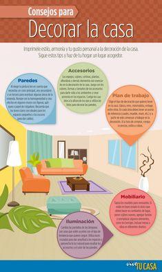 infografias decoracion - Buscar con Google