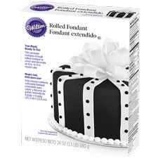 Avoid the mess and hassle of coloring fondant black by hand! With Wilton Ready-To-Use Rolled Fondant, the deep, rich color has no impact on the delicious flavor. And, it's the perfect consistency for full cake coverage.