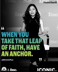 Entrepreneurship is about taking risks but they have to be educated risks. What's your anchor?  #IconicTour16