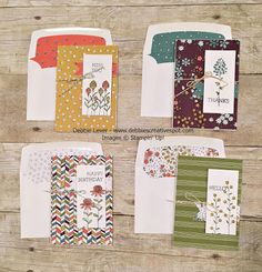 Flowering Fields Stamp Set and Wildflower Fields Designer Series Paper