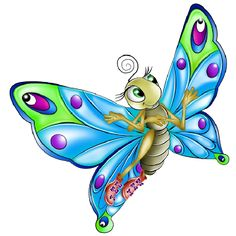 butterfly pics cartoon - Google Search